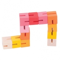 Twister Blocks, rosa/gul
