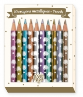 Mini metallic pencils Chichi