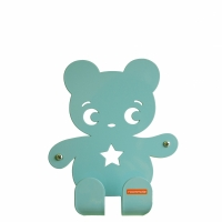Ninka (Bear)Pastel Blue/green
