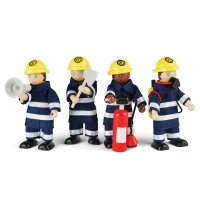 Dockfamilj - Firefighters Set