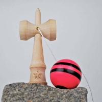 Kendama Pocket Red with black stripe