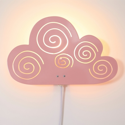 Cloud lampa, rose