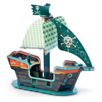 Pirate Boat 3D pyssel