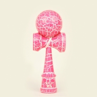Kendama Vulcano Pink over White