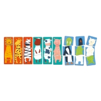 9-pack pussel Fancy Animals