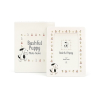 Bashful Puppy Ceramic Frame